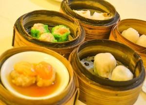 Bangkok Vegetarian Festival in Chinatown, Dim Sum Lunch