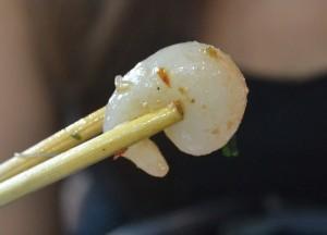 Bangkok Vegetarian Festival in Chinatown, Rubbery Prawns