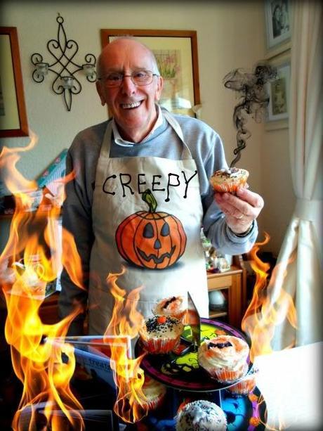 Spooky Pumpkin Cottage Pies