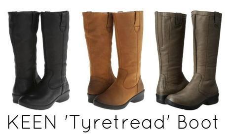 keen tyretread boot
