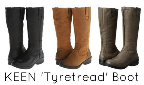 keen tyretread boot