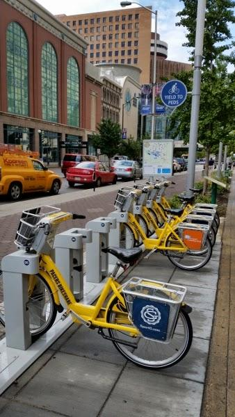 Indianapolis bike share station