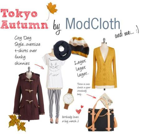 Tokyo Autumn by ModCloth and Me