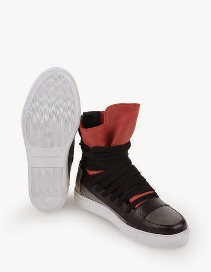 Bound And Laced:  Kris VanAssche High Top