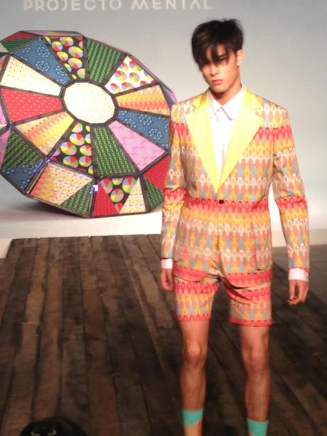 Tailoring Outside The Box:  Projecto Mental Spring 2015 Collection Review