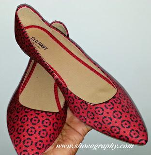 Shoe of the Day | Old Navy Printed Pointed-Toe Flats