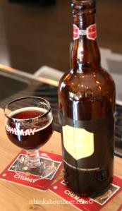 1996 Chimay Grand Reserve tasted in Chimay's private tasting room.