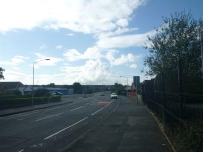 Silverbirch Road in Bangor, where Kilmaine Primary School sits.