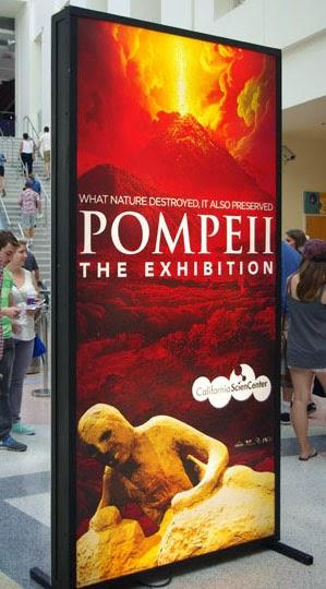 POMPEII: THE EXHIBITION, A Vicarious Visit to Ancient Roman Times