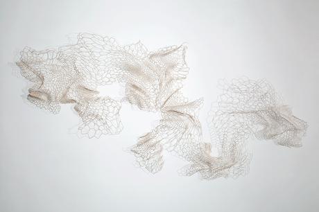 3d Line Drawings : Paper arts d cut line drawings