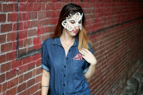 Perfect for Halloween! Handmade Leather Masks at December Thieves