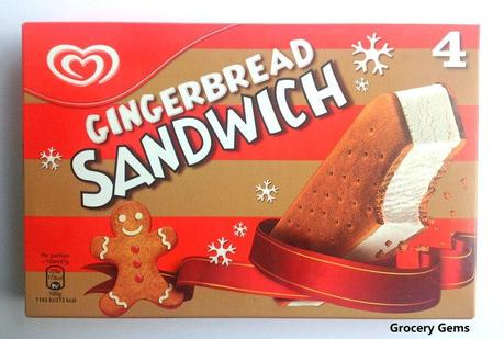 New Walls Gingerbread Sandwich Ice Cream