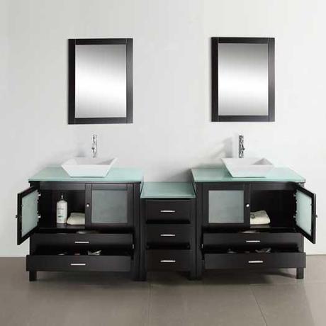 Large Brentford Modern Bathroom Vanity