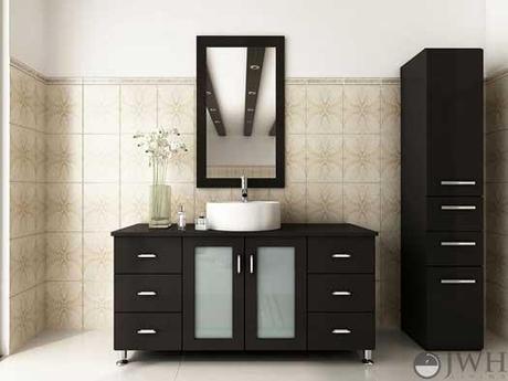 Espresso Modern Bath Vanity from JWH Living