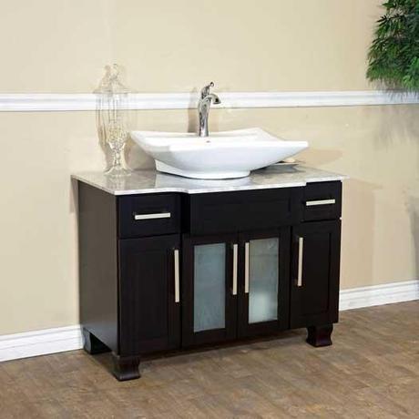 Canete Single Vessel Sink Vanity