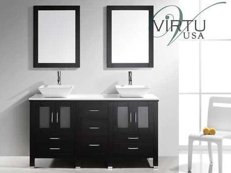 Bradford Double Sink Vanity from Virtu USA
