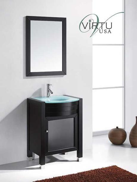 Ava Single Bath Vanity from Virtu USA