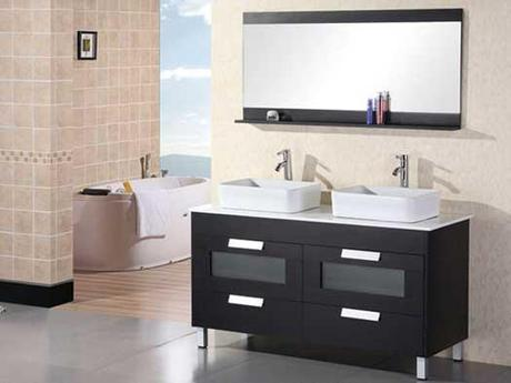 Francesca Double Vessel Sink Vanity
