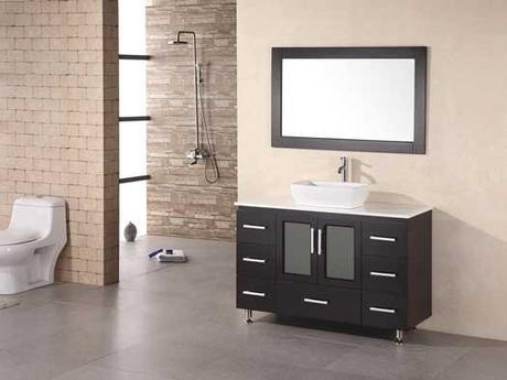 Stanton Modern Vanity with Vessel Sink