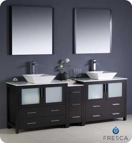 Torino Large Vessel Sink Vanity