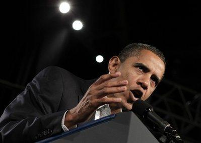 The demon is coming out of Obama again