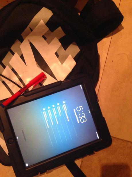 School supplied iPad's