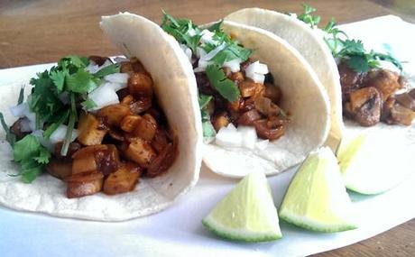 Ravenous Runner Mushroom Tacos