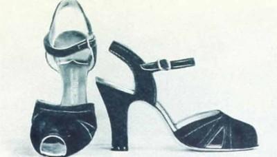 1.Ginger-Rogers-Favourite-Shoes-Red-velvet-sandals