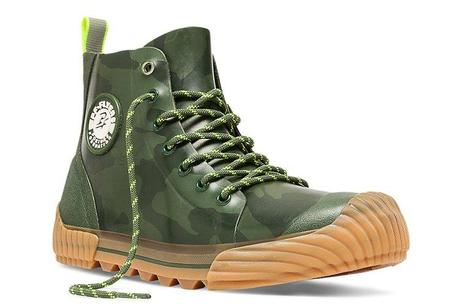 Rubber Boots For Grown Ups   PF Flyer Camo Grounder