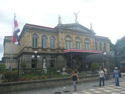 National Theatre in San Jose, Costa Rica.