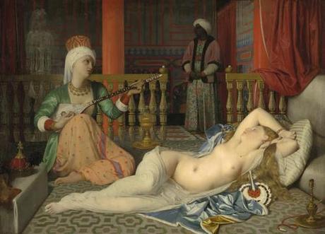 odalisque-with-a-slave-ingres-harvard-