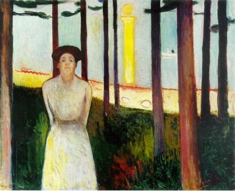 Summer Night's Dream (The Voice), 1893, Edvard Munch, Norwegian, 1863Ð1944