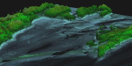 LiDAR Survey Studio smooth constant 3D viewing of LIDAR points