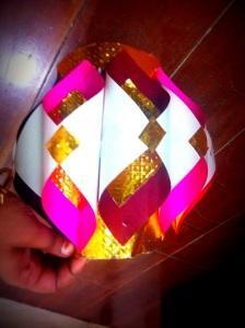 diwali paper lanterns DIY
