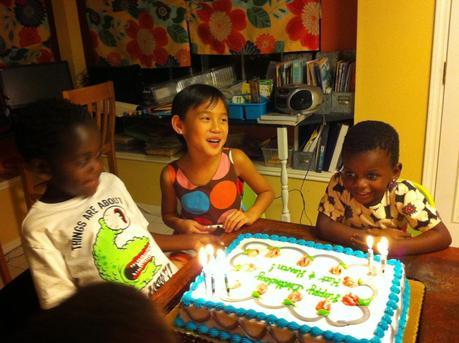 Birthday Season is Finally Over!  Happy Birthday Haven and Kat