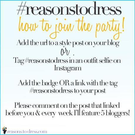 Reasonstodress linkup rules #fblogger linkup, link pary, linky for mom blogger, linkup for mom style