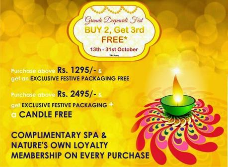 The Nature's Co. unveils the Grande Deepavali Fest till the 31st of October