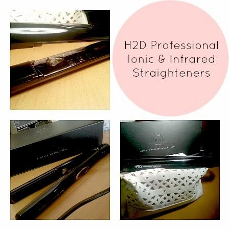 H2D VI Professional Ionic and Infrared Hair Straighteners