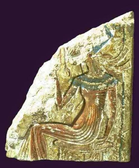 Fragment of a relief showing Akhenaten