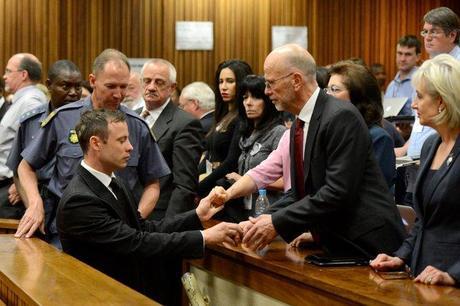 Gun Nut, Oscar Pistorius Gets Away With Murder - He'll Serve Only 10 Months