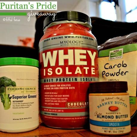 Puritans Pride Giveaway via Fitful Focus