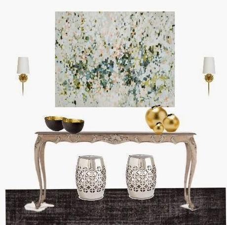 Art and interiors with a few GIFA artists