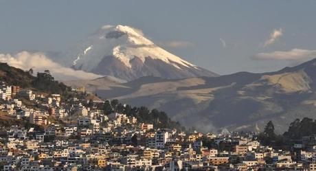 cotopaxy city ecuador