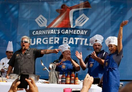Carnival Cruise Lines celebrates partnership with Dallas Cowboys
