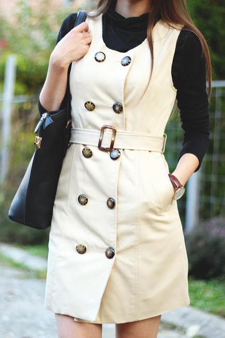 The Trench Coat Series: Trench Dress