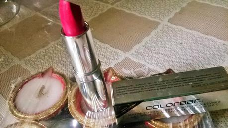 Colorbar Matte Touch Lipstick in Tooty Fruity Review, Swatches & LOTD