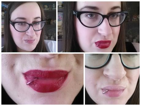 MAC Rocky Horror show lipstick in Frank-N-Furter