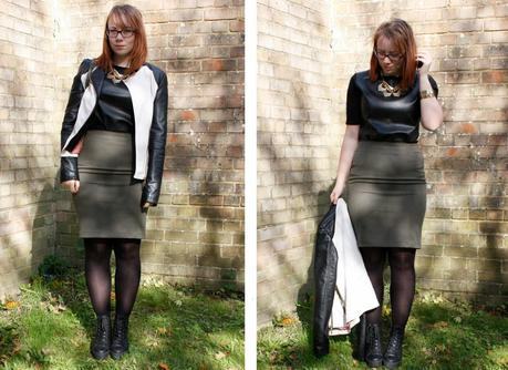 Leather on Leather - Outfit