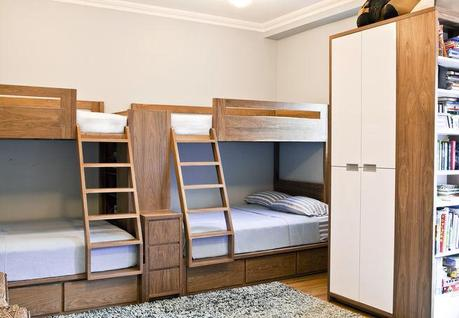 Modern Kids 39 Room With Custom Bunk Beds Paperblog