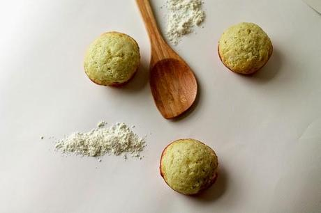 Banana Muffins Made with Homemade Baking Mix